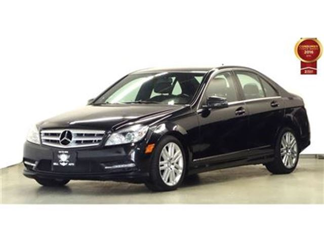 Used 2011 mercedes benz c class v 6 cy c250 4matic leather for Used mercedes benz toronto