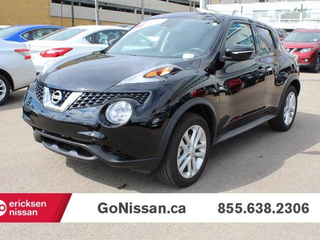 2016 nissan juke sv all wheel drive black ericksen nissan. Black Bedroom Furniture Sets. Home Design Ideas