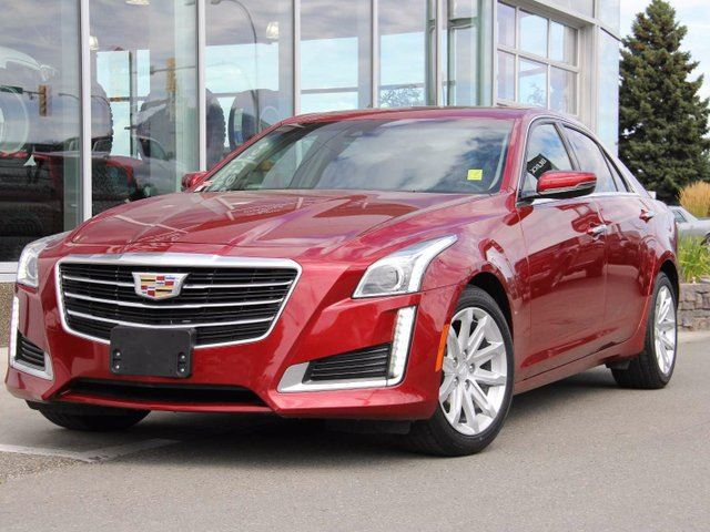 2015 CADILLAC CTS Certified | Remote Start | All-Wheel-Drive | Intellibeam High Beam Control | Cue Navigation | Rear Vision Camera in Kamloops, British Columbia