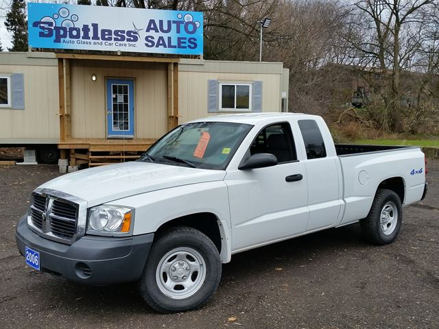 2006 dodge dakota st whitby ontario used car for sale. Black Bedroom Furniture Sets. Home Design Ideas