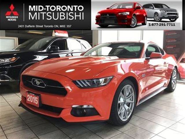 2015 Ford Mustang GT Premium **low kms, backup camera, like new in Toronto, Ontario