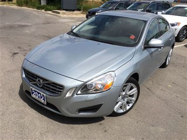 2012 Volvo S60 T5 A Level 2 VOLVO CERTIFIED PRE-OWNED 0.9% OAC - - Mississauga, Ontario Used Car ...