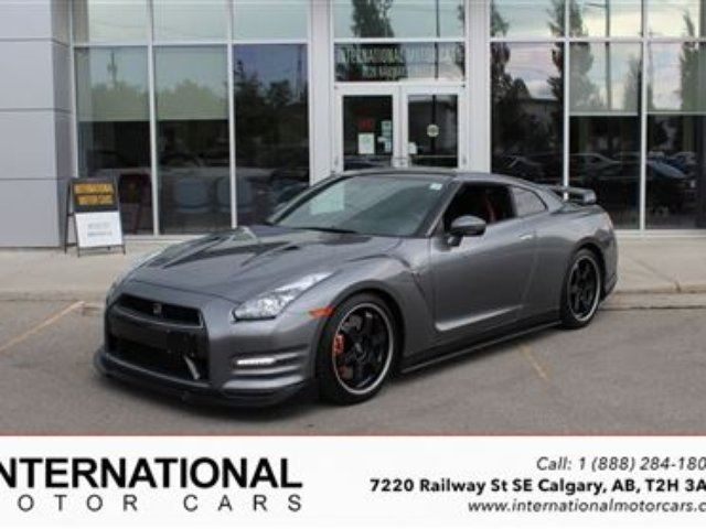 2012 Nissan GT-R BLACK EDITION! in Calgary, Alberta
