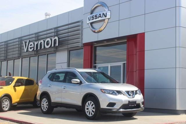 2016 NISSAN Rogue S All-Wheel Drive in Vernon, British Columbia