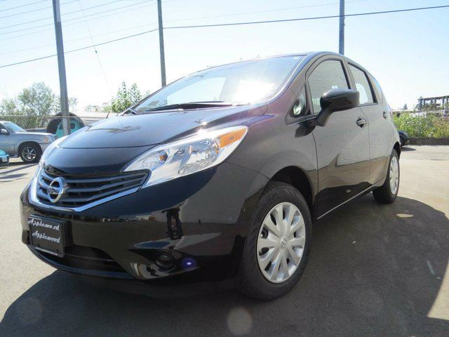 2016 nissan versa 1 6 s 4dr hatchback black the original applewood motors. Black Bedroom Furniture Sets. Home Design Ideas