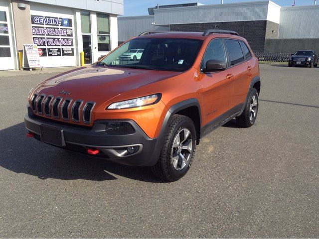 2015 Jeep Cherokee Trailhawk in Prince George, British Columbia