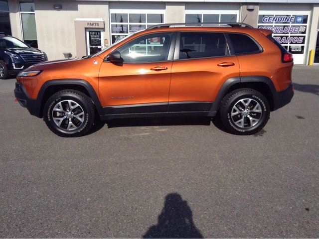 2015 jeep cherokee trailhawk prince george british columbia car for sale 2526433. Black Bedroom Furniture Sets. Home Design Ideas