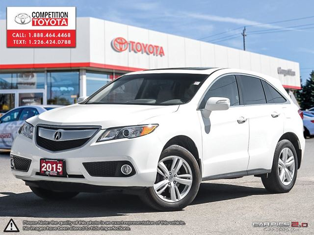 2015 Acura RDX Base Competition Certified, One Owner, No ...