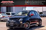 2016 Fiat 500 NEW Car Abarth Convertible Comfort&Convenience Grp. Beats Audio Nav Black/Red Leather Seats in Thornhill, Ontario