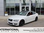 2011 BMW 3 Series 335is! VERY RARE! WHITE ON RED! in Calgary, Alberta