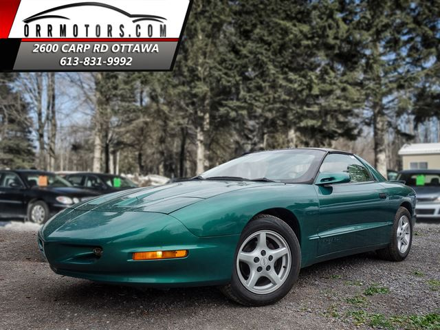 1997 Pontiac Firebird Coupe  T-Roof  Rare Find in Stittsville, Ontario