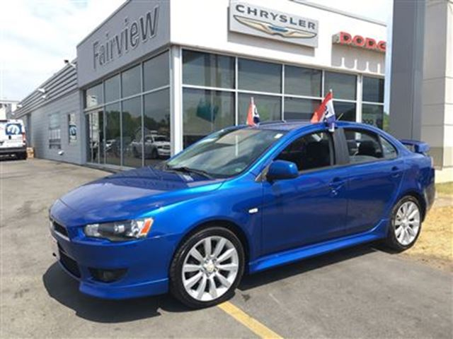 2010 Mitsubishi Lancer Gts 1 Owner Blue Fairview