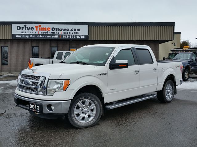 2012 ford f 150 lariat crew cab 4x4 ottawa ontario used car for sale 2527724. Black Bedroom Furniture Sets. Home Design Ideas
