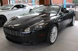2010 Aston Martin DB9 Volante Convertible TRIPLE BLACK GREAT KM FINANCE AVAILABLE in Edmonton, Alberta