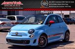 2016 Fiat 500 NEW Car Abarth Comfort&Convenience Grp. Beats Audio Nav Black/Red Leather Seats in Thornhill, Ontario