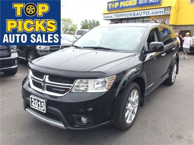 Used 2015 dodge journey rt north bay for Victory motors fort dodge