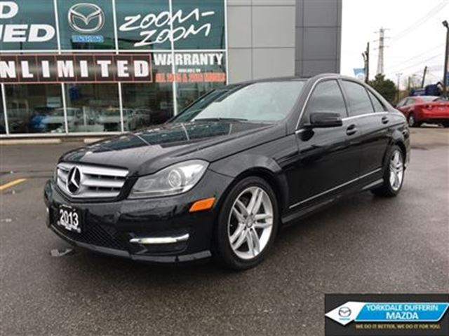 2013 mercedes benz c class 4matic leather navi for Mercedes benz c300 4matic 2013 price