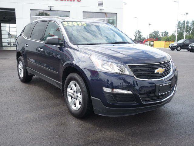 2016 chevrolet traverse ls awd w pdc abbotsford british columbia car for sale 2529816. Black Bedroom Furniture Sets. Home Design Ideas