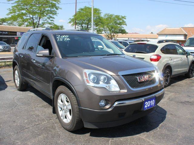 2010 gmc acadia ls 8 passenger brampton ontario used. Black Bedroom Furniture Sets. Home Design Ideas