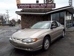 2002 Chevrolet Monte Carlo LS in Scarborough, Ontario