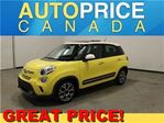 2014 Fiat 500L LOUNG PANOROOF AUTO HEATED SEAT in Mississauga, Ontario