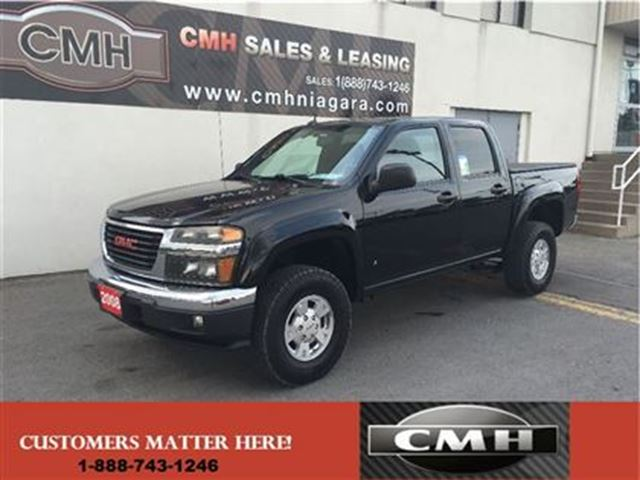 2008 gmc canyon sle offroad 5cyl alloys loaded certified. Black Bedroom Furniture Sets. Home Design Ideas
