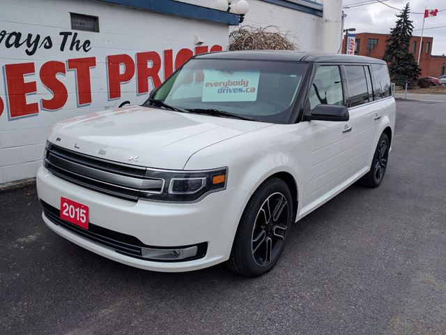 2015 ford flex limited awd heated leather seats sunroof oshawa ontario car for sale 2530033. Black Bedroom Furniture Sets. Home Design Ideas