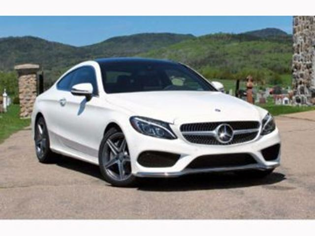 2017 Mercedes Benz C Class White Lease Busters