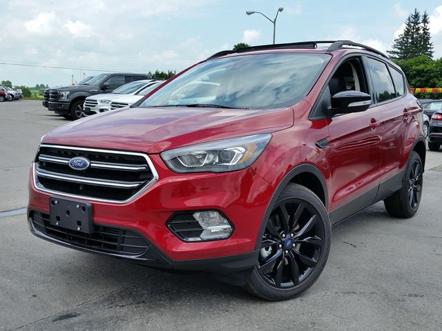 2017 ford escape titanium red taylor ford new car. Black Bedroom Furniture Sets. Home Design Ideas