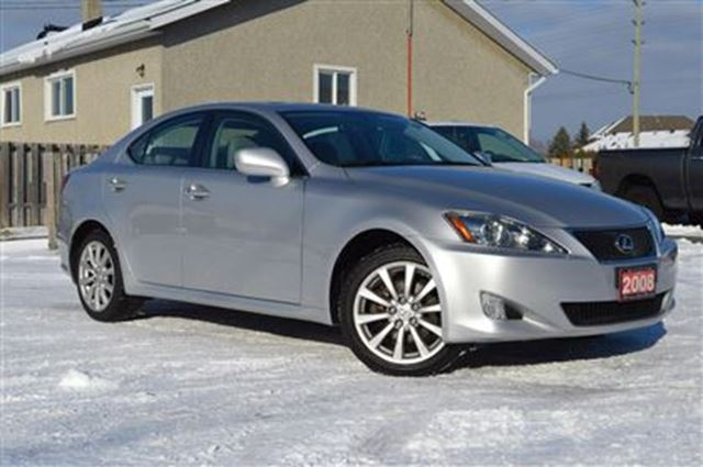 2008 lexus is 250 awd premium only 74 000km ottawa. Black Bedroom Furniture Sets. Home Design Ideas