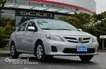 2013 Toyota Corolla CE Steering Wheel Audio Control, Heated Front S in Richmond, British Columbia