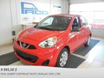 2015 Nissan Micra S in Chicoutimi, Quebec