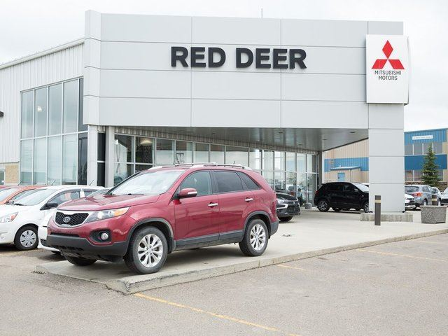 Used Car Truck Dealership Red Deer Ab Used Cars Red: 2013 Kia Sorento LX Red