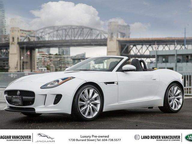 2014 jaguar f type convertible vancouver british columbia used car. Cars Review. Best American Auto & Cars Review