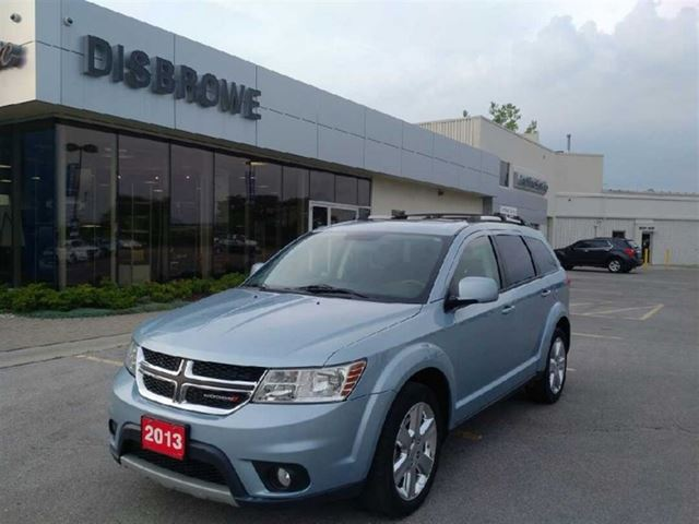 2013 dodge journey sxt crew third row sunroof bluetooth blue disbrowe chevrolet buick gmc. Black Bedroom Furniture Sets. Home Design Ideas