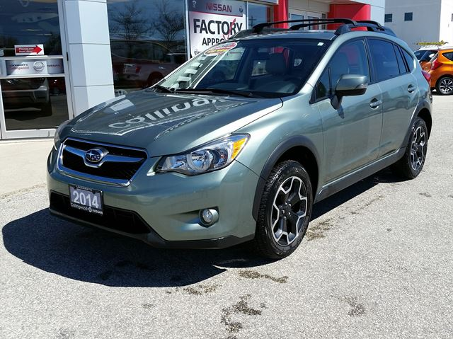 2014 subaru xv crosstrek limited 1 owner collingwood ontario used car for sale 2532873. Black Bedroom Furniture Sets. Home Design Ideas