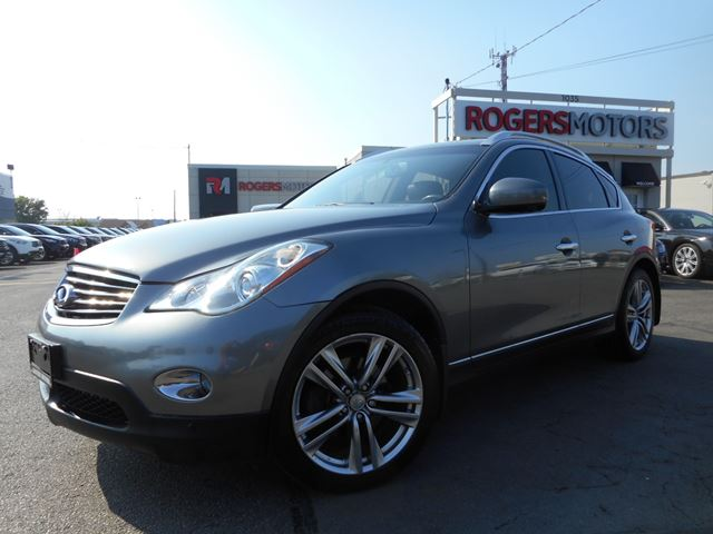 2012 infiniti ex35 leather full camera gray rogers motors. Black Bedroom Furniture Sets. Home Design Ideas