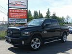 2013 Dodge RAM 1500 CREW 4X4 SPORT LOADED! LEATHER, NAVIGATION, MOONROOF in Ottawa, Ontario
