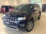 2014 Jeep Grand Cherokee Limited 4X4 CUIR TOIT GPS BLUETOOTH AIR CLIM CA in Joliette, Quebec