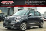 2015 Fiat 500L Lounge Pano_Sunroof Nav HTD/Vented Frnt Seats Backup Cam 17Alloys in Thornhill, Ontario