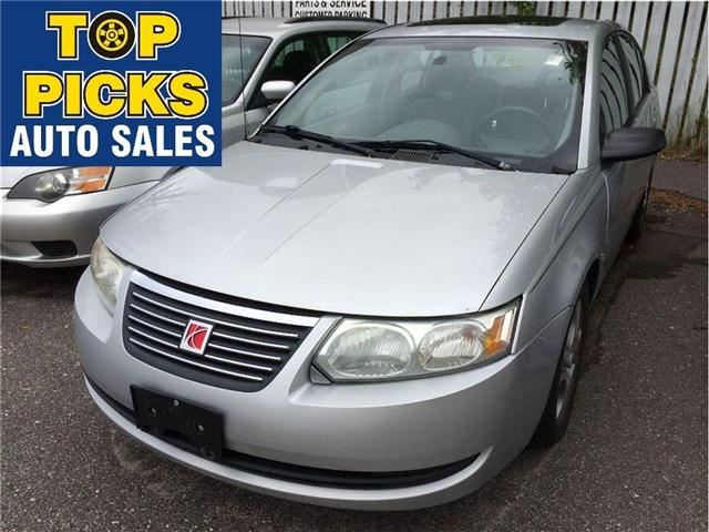 2005 SATURN ION           in North Bay, Ontario