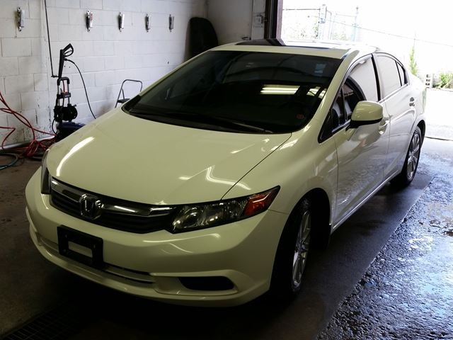 2012 honda civic ex l white au touch approved for 2012 honda civic white