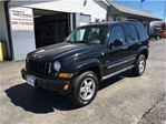2007 Jeep Liberty SPORT 4X4 SUNROOF WITH LEATHER NICE !! in Welland, Ontario