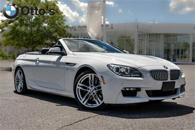 2014 Bmw 6 Series Xdrive Cabriolet M Sport White Otto S