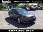 2016 Chrysler 200 LX  FWD  CLOTH  UCONNECT  BLUETOOTH  in Windsor, Nova Scotia