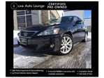 2011 Lexus IS 250 IS250 PREMIUM AWD! LEATHER, SUNROOF, ALL-WHEEL-DRIVE, CERTIFIED PRE-OWNED!! LOADED!! in Orleans, Ontario