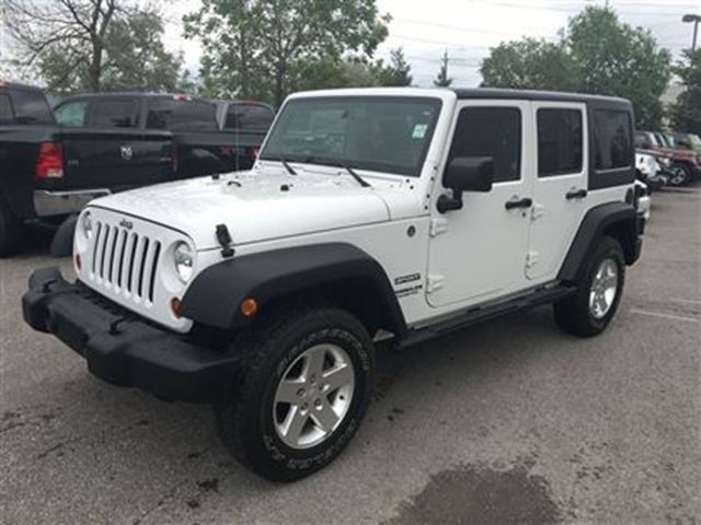 2013 JEEP WRANGLER Unlimited Sport in Newmarket, Ontario