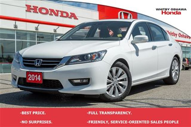 2014 honda accord ex l white whitby oshawa honda for 2014 honda accord white