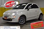 2012 Fiat 500 LOUNGE LEATHER SUNROOF LOADED in Ottawa, Ontario