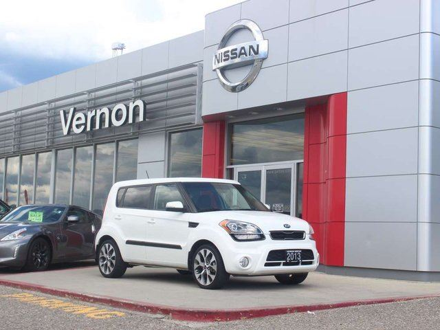 2013 KIA SOUL 2.0L 4u Luxury in Vernon, British Columbia